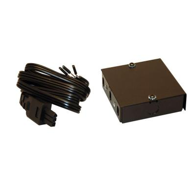 Pro-Series Direct Wire Black Under Cabinet Light Fixture Module