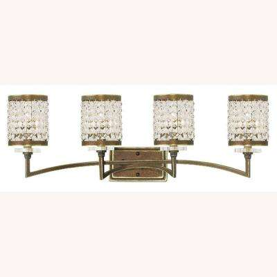 Grammercy 4-Light Palacial Bronze Bath Light