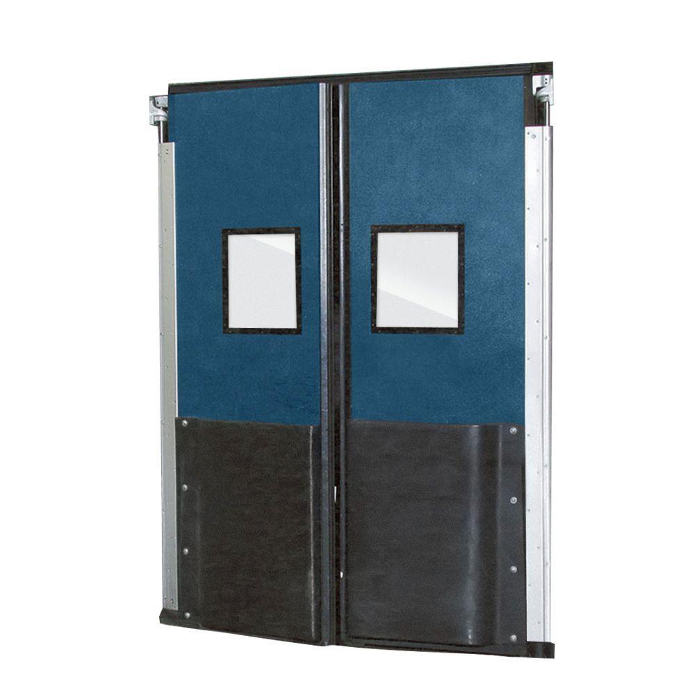 Aleco ImpacDor FD-175 1-3/4 in. x 72 in. x 96 in. Royal Blue Impact Door