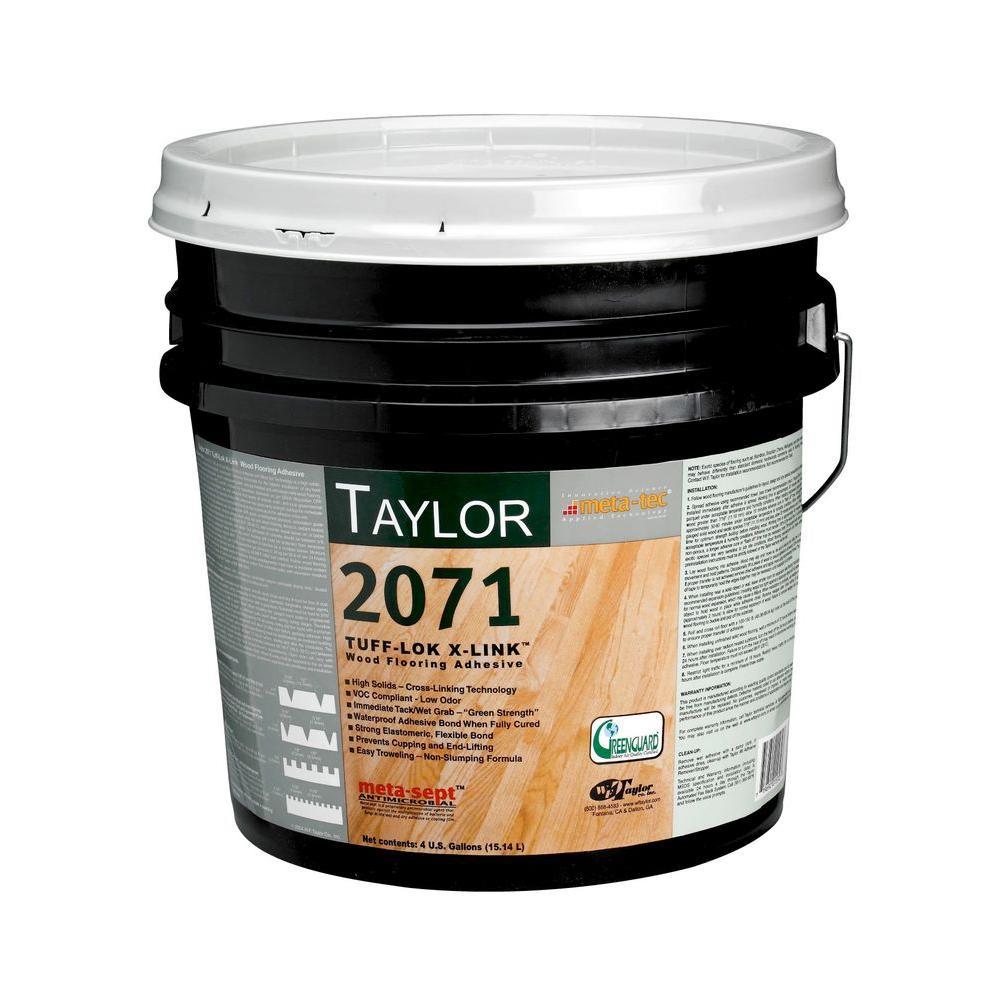 Taylor 2071 4-gal. Tuff-Lok X-Link Wood Flooring Adhesive