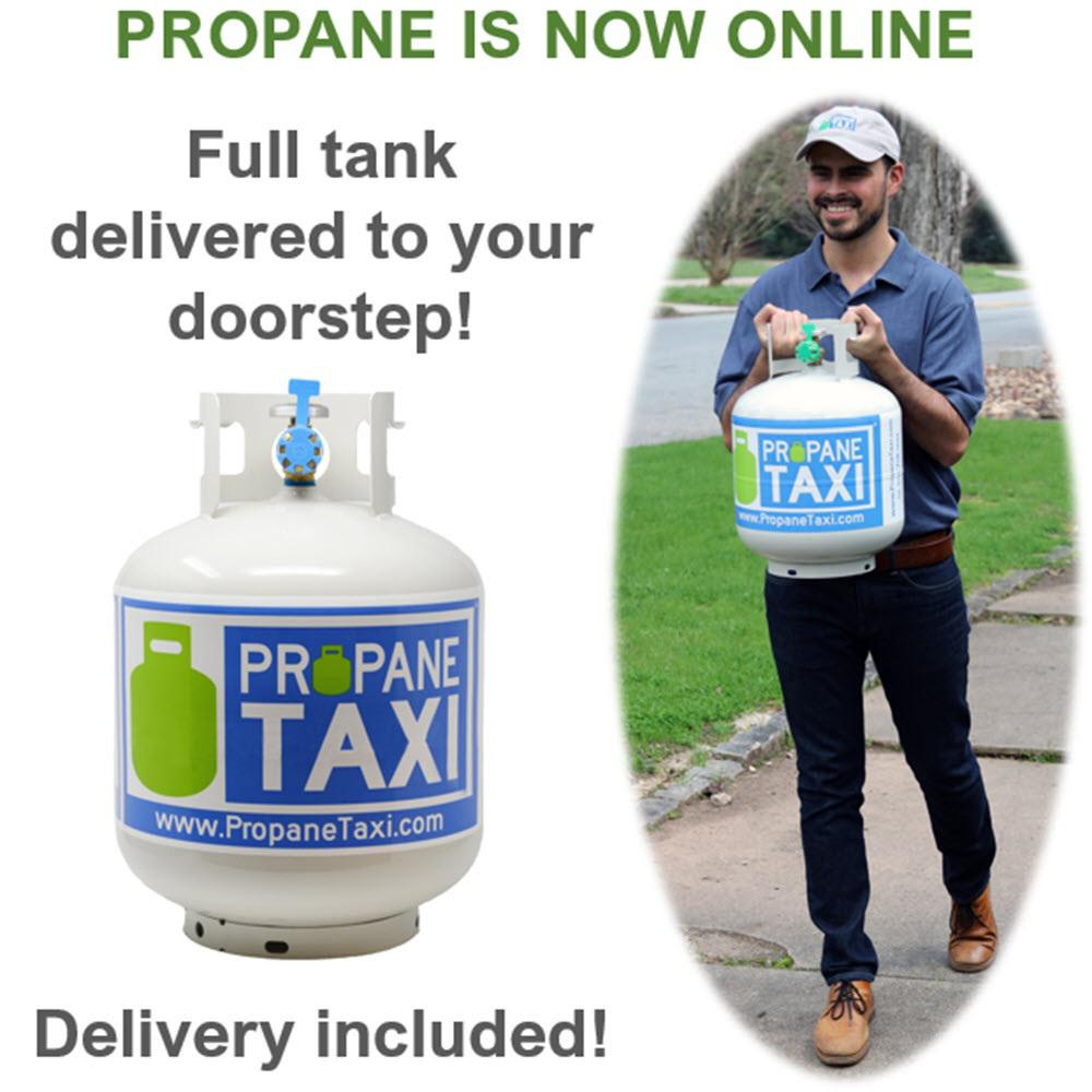 Propane Taxi Propane Grill Tank Exchange with Next-Day Delivery