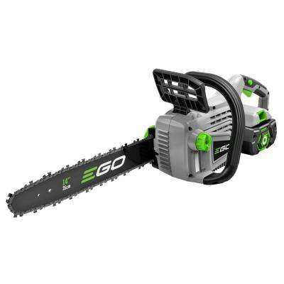 14 in. 56-Volt Lithium-ion Cordless Chainsaw with 2.0Ah Battery and Charger Included