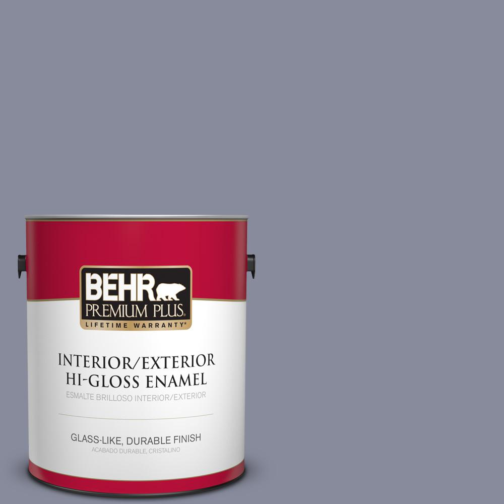 1 gal. #PPU15-08 River Tour Hi-Gloss Enamel Interior/Exterior Paint