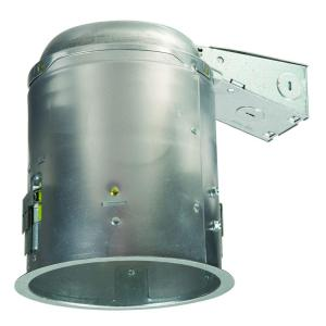 Halo E26 5 inch Aluminum Recessed Lighting Housing for Remodel Ceiling, Insulation Contact, Air-Tite by Halo