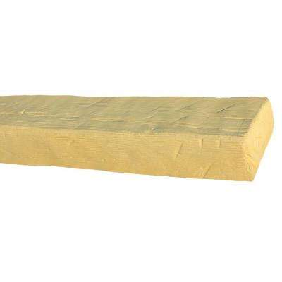 5-1/2 in. x 3-3/4 in. x 11 ft. 6 in. Unfinished Faux Beam