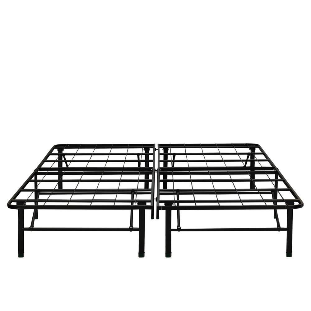 Rest Rite Rest Rite 14 in. California King Metal Platform Bed Frame, Black
