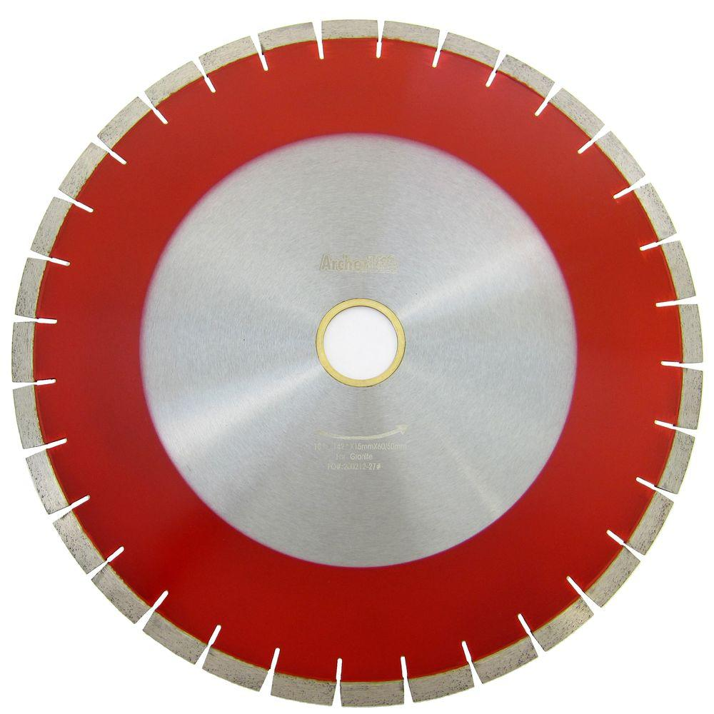 Archer USA 18 in. Bridge Saw Blade for Granite Cutting