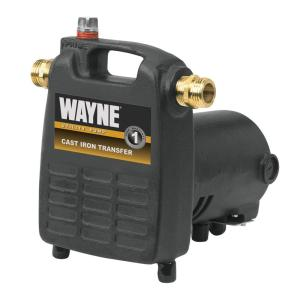 Wayne 1/2 HP Cast Iron, Portable Transfer Utility Pump by Wayne