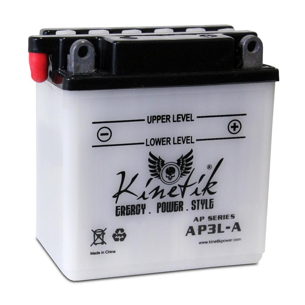UPG Conventional Wet Pack 12-Volt 3 Ah Capacity F Terminal Battery
