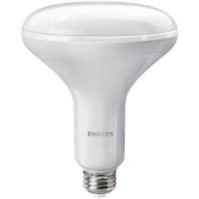 65W Equivalent Soft White with Warm Glow BR40 Dimmable LED Energy Star Light Bulb (3-Pack)