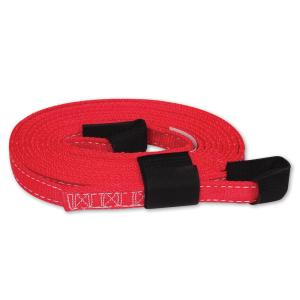 SNAP-LOC 15 ft. x 1 inch Tow Strap with Hook and Loop Storage Fastener in Red by SNAP-LOC