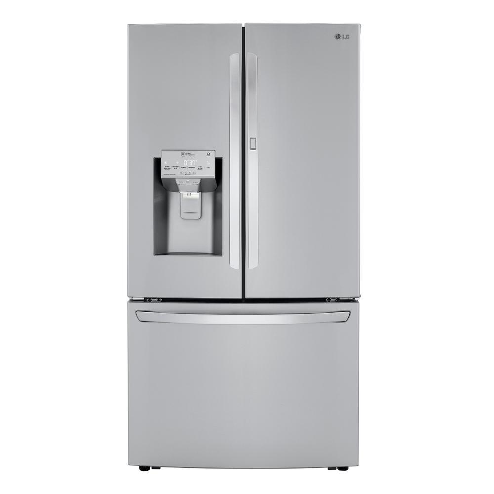 29.7 cu. ft. Smart French Door Refrigerator, Door-In-Door, Dual Ice Makers with Craft Ice in PrintProof Stainless Steel