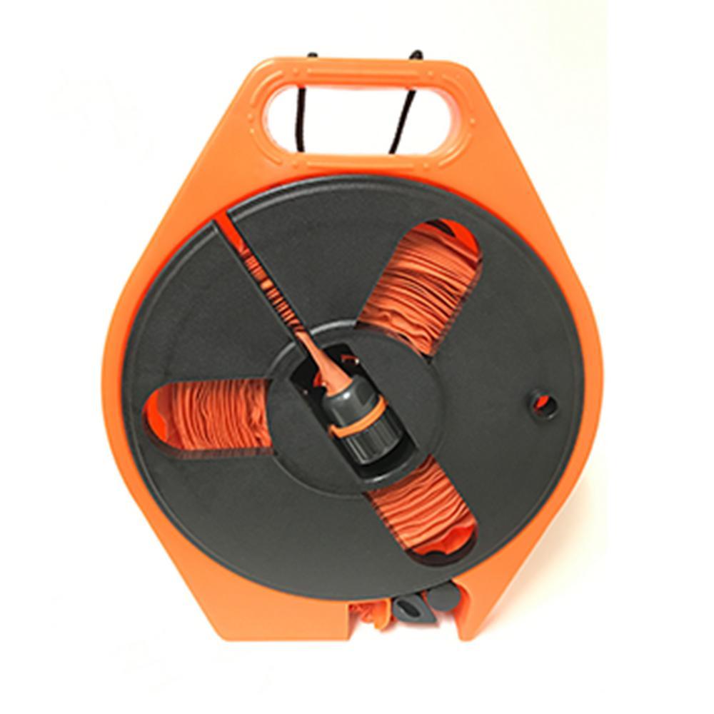 2 in. Dia x 40 ft. HydroHose on Reel in Orange