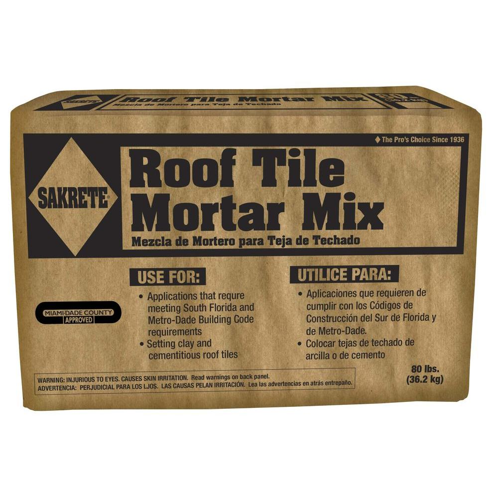 80 lb. Roof Tile Mortar