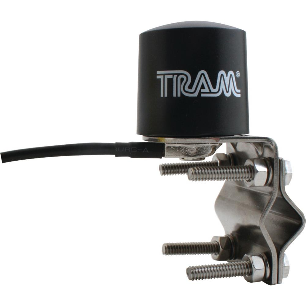 Petra Industries Satellite Radio Low-Profile Mirror-Mount Antenna Avoid satellite signal dead zones. The Tram Satellite Radio Mirror Mount Antenna is compatible with Sirius and XM services. It mounts to your mirror to extend your radio's range.