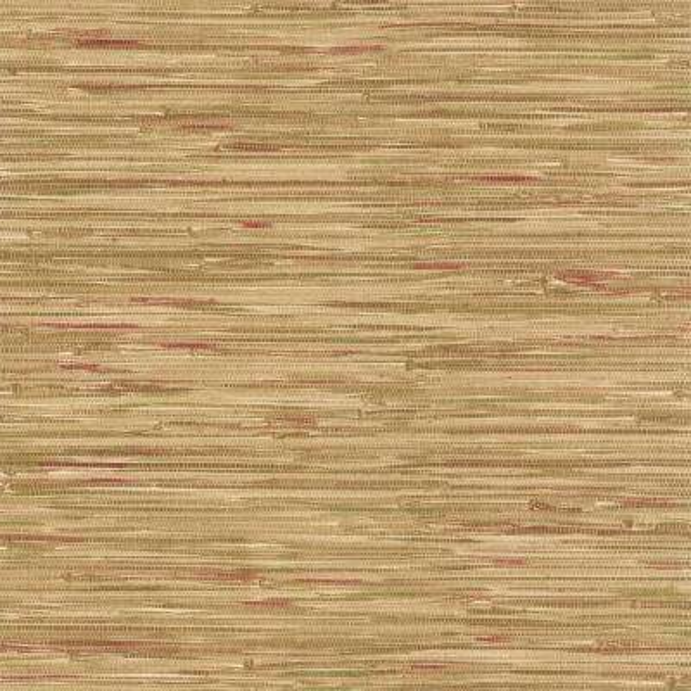 Faraji Light Brown Faux Grasscloth Wallpaper