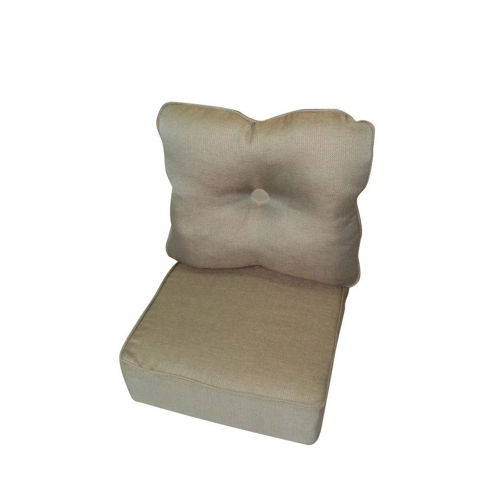 null Pacifica Replacement Outdoor Chat Chair Cushion-DISCONTINUED