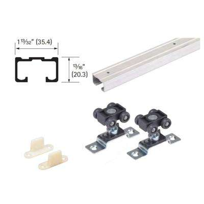 60 in. Grant 75E Single Economy Door Hardware and Track