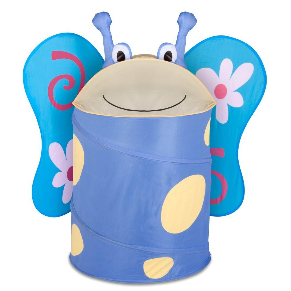 Large Kids Pop-Up Hamper Butterfly