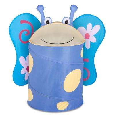 Large Kids Pop-Up Hamper Butterfly