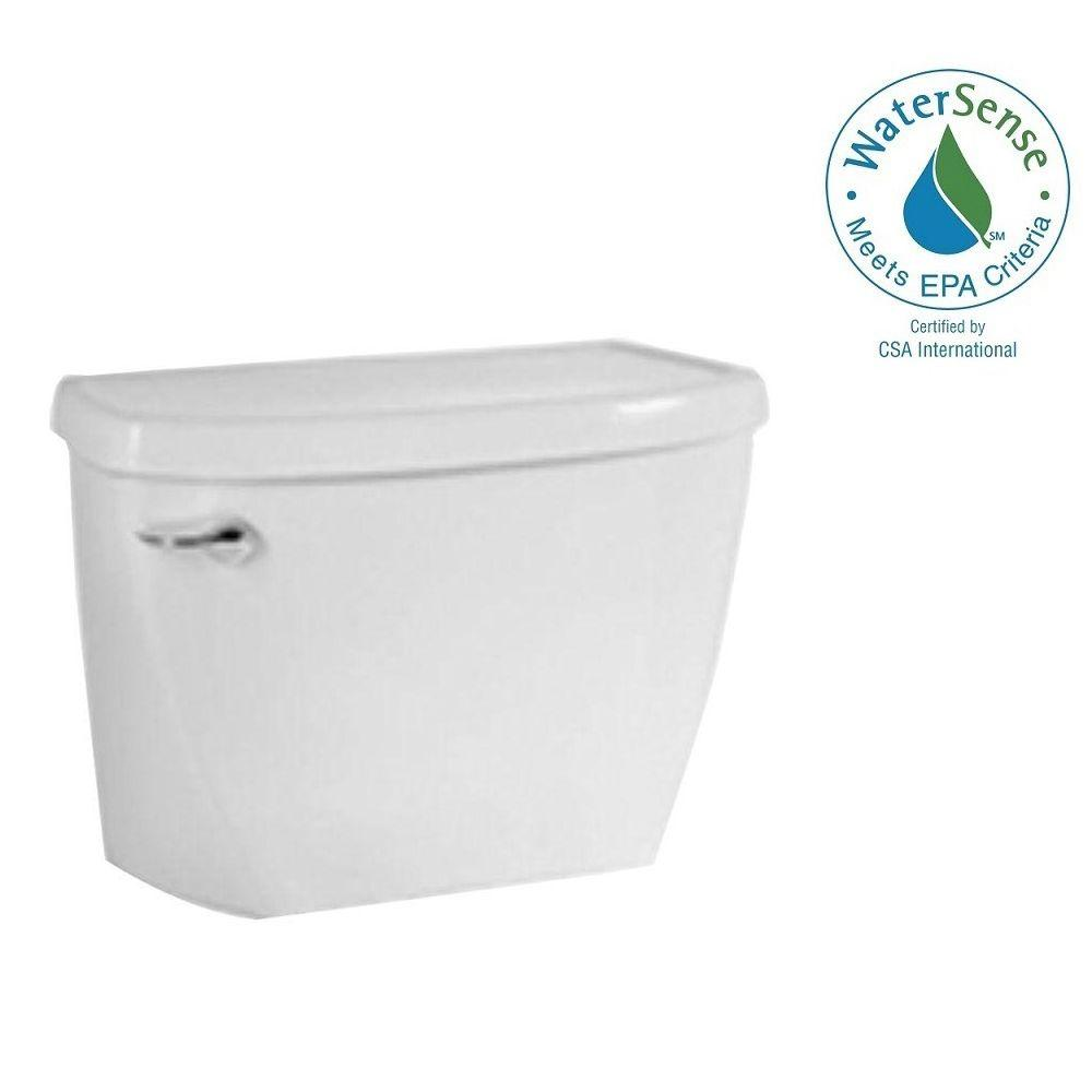 American Standard Yorkville FloWise Pressure-Assisted 1.1 GPF Single Flush Toilet Tank Only in White