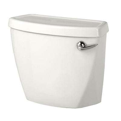 Baby Devoro Right-Hand Trip Lever 1.28 GPF Single Flush Toilet Tank Only in White