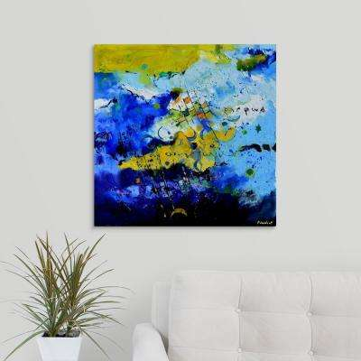 """Blue Galaxy"" by Pol Ledent Canvas Wall Art"