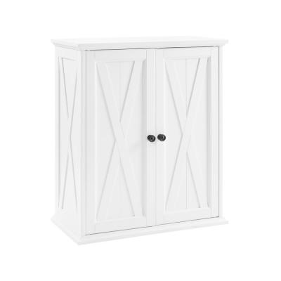 Clifton Distressed White Stackable Pantry