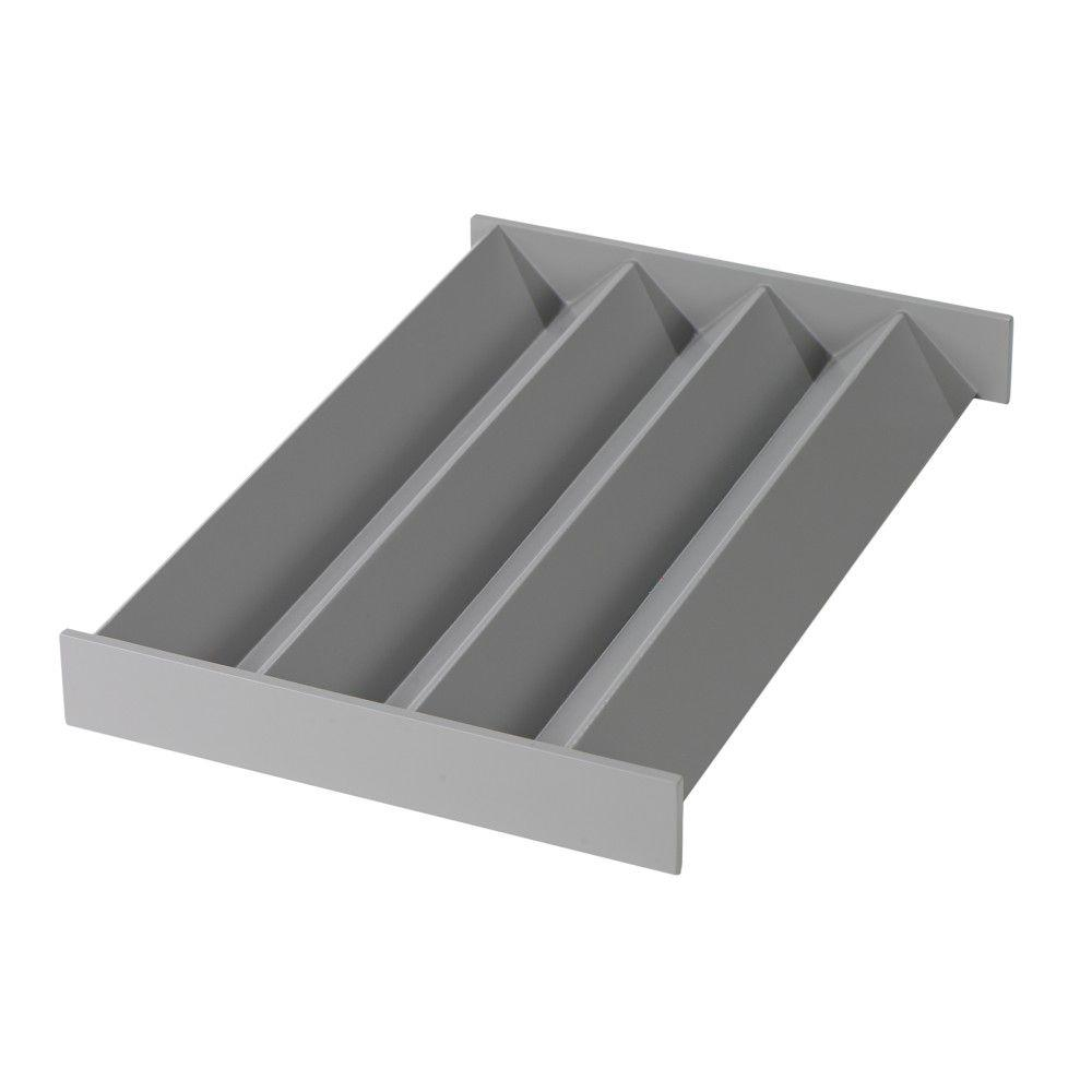 Home Decorators Collection Craft Space Cement Gray Zigzag Drawer Insert