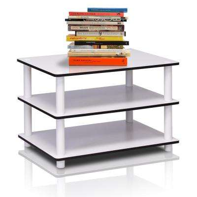 Just 3-Tier White Coffee Table