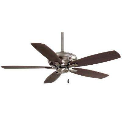 Kola 52 in. Indoor Pewter Ceiling Fan