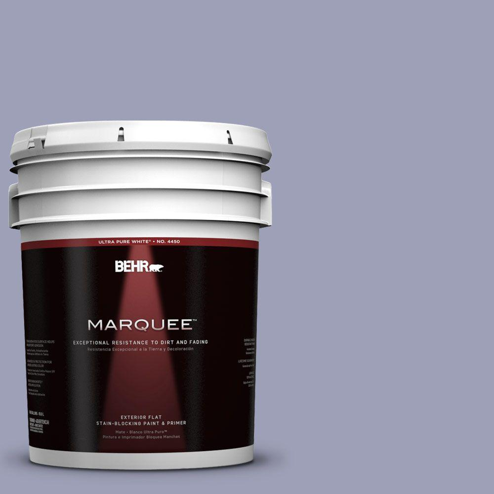 BEHR MARQUEE 5-gal. #630F-4 Wild Thistle Flat Exterior Paint