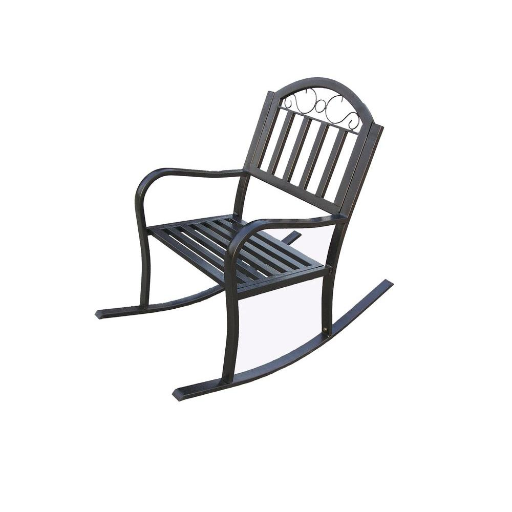Oakland Living Rochester Patio Rocking Chair
