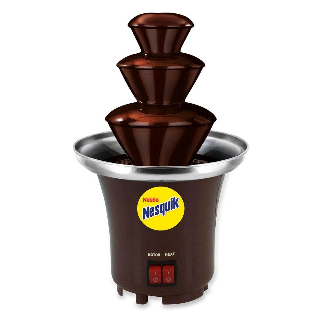 SmartPlanet Nesquik Chocolate Fountain