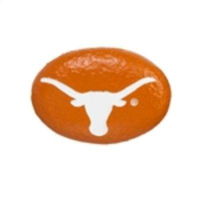 University of Texas 3 in. x 2 in. Decorative Garden Rock