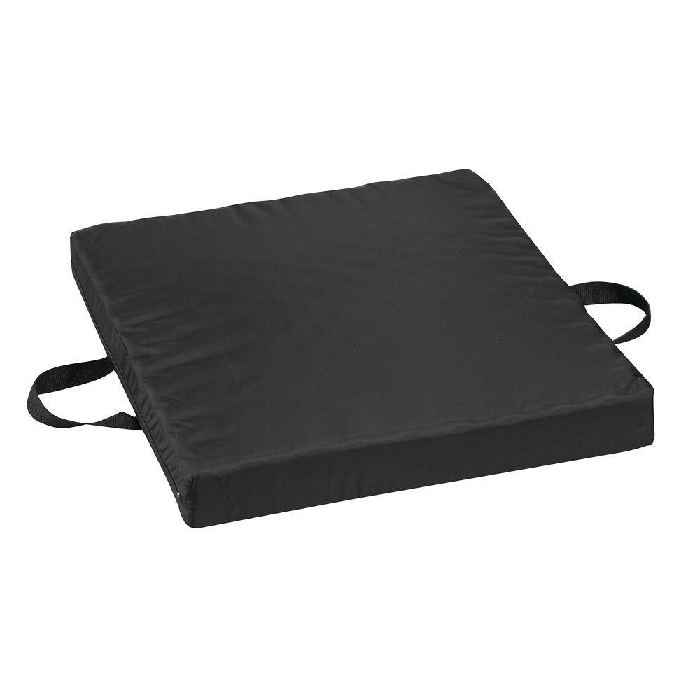 Waffle Foam/Gel Seat Cushion in Black