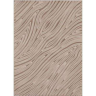 Eddy Grey 5 ft. 3 in. x 7 ft. 5 in. Area Rug