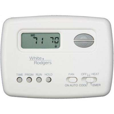 white rodgers programmable thermostats thermostats the home depot rh homedepot com White Rodgers Parts Catalog White Rodgers Thermostat Operating Manuals