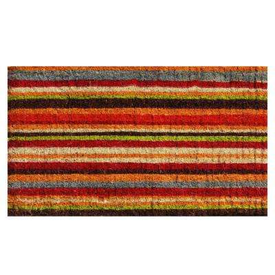 Palisades Stripe Door Mat 17 in. x 29 in.
