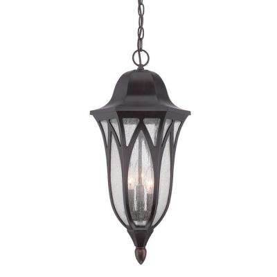 Milano 3-Light Oil-Rubbed Bronze Hanging Lantern