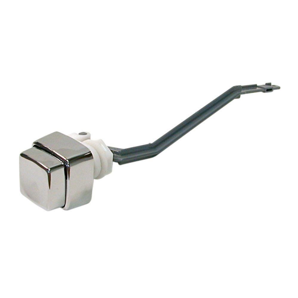 toilet cistern handle parts.  DANCO Push Button Toilet Handle in Chrome 88368 The Home Depot