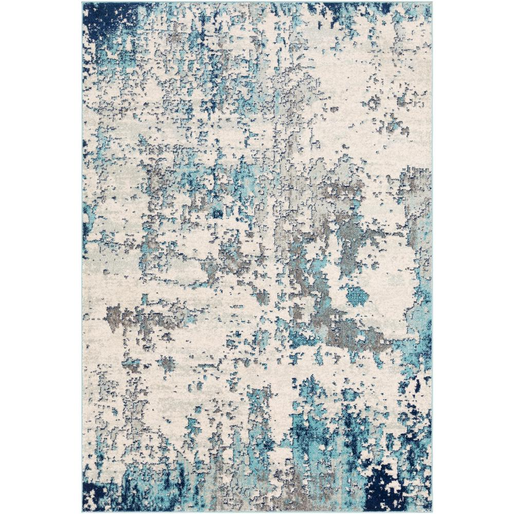 Artistic Weavers Calandra Aqua 2 ft. 7 in. x 10 ft. 3 in. Area Rug, Blue was $130.0 now $63.08 (51.0% off)