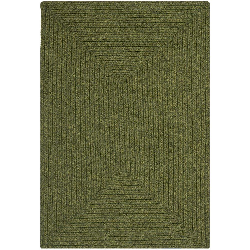 Safavieh Braided Green 2 ft. 6 in. x 4 ft. Area Rug