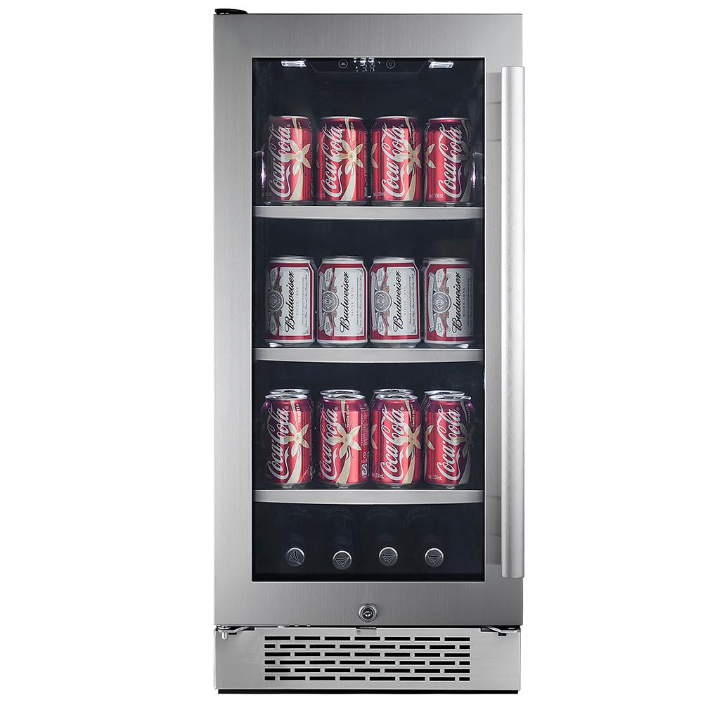 Avallon Single Zone 15 In 86 Can Built In Beverage Cooler