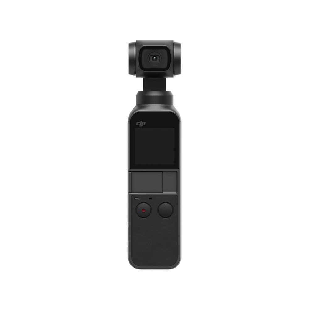 DJI Osmo Pocket, Black Osmo Pocket is the smallest 3-axis stabilized handheld camera DJI has ever designed. The compact and intelligent Osmo Pocket turns any moment into a cinematic memory. In just seconds, Osmo Pocket lets you share your life anywhere, anytime. Color: Black.