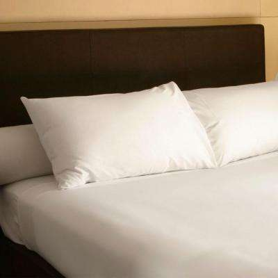 4-Piece White 300 Count Egyptian Cotton Queen Sheet Set