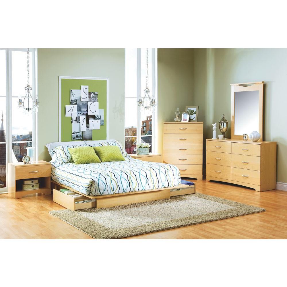 urben queen storage bed