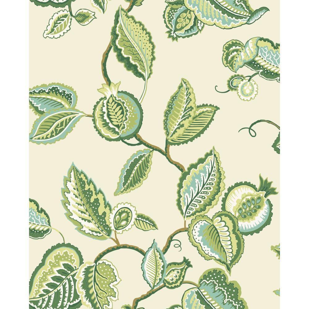 York Wallcoverings Waverly Classics Fantasy Fleur Wallpaper
