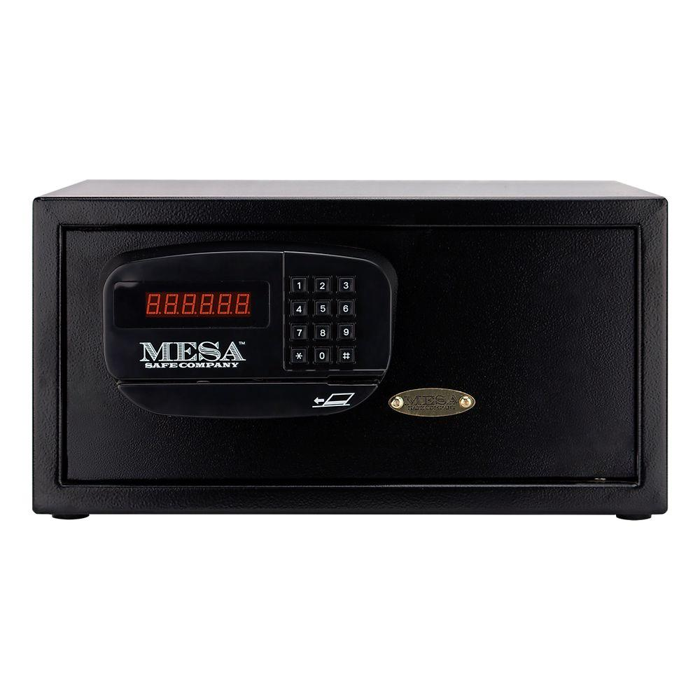 1.2 cu. ft. All Steel Hotel Safe with Electronic Lock, Black