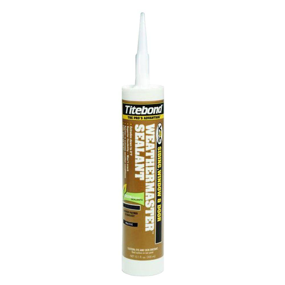 Titebond 10.1 oz. WeatherMaster Crystal Clear Sealant (12-Pack)